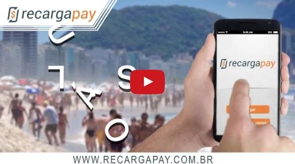 Recarga de Celular pelo o novo aplicativo Recargapay