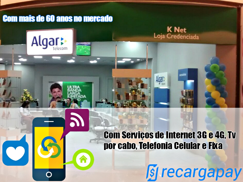 Recarga online Algar Telecom
