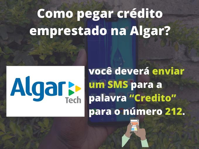 Como pegar crédito emprestado na Algar Telecom?