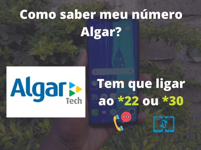 Como saber meu número Algar?