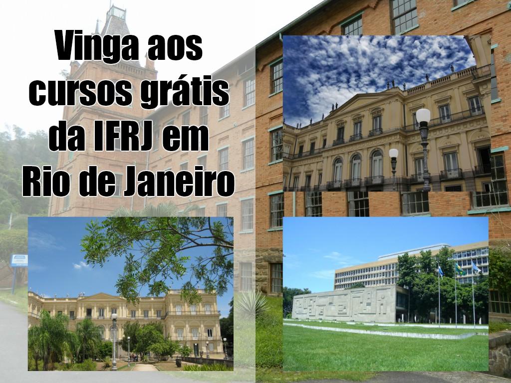 Vinga a los cursos gratis de IFRJ en Río de Janeiro