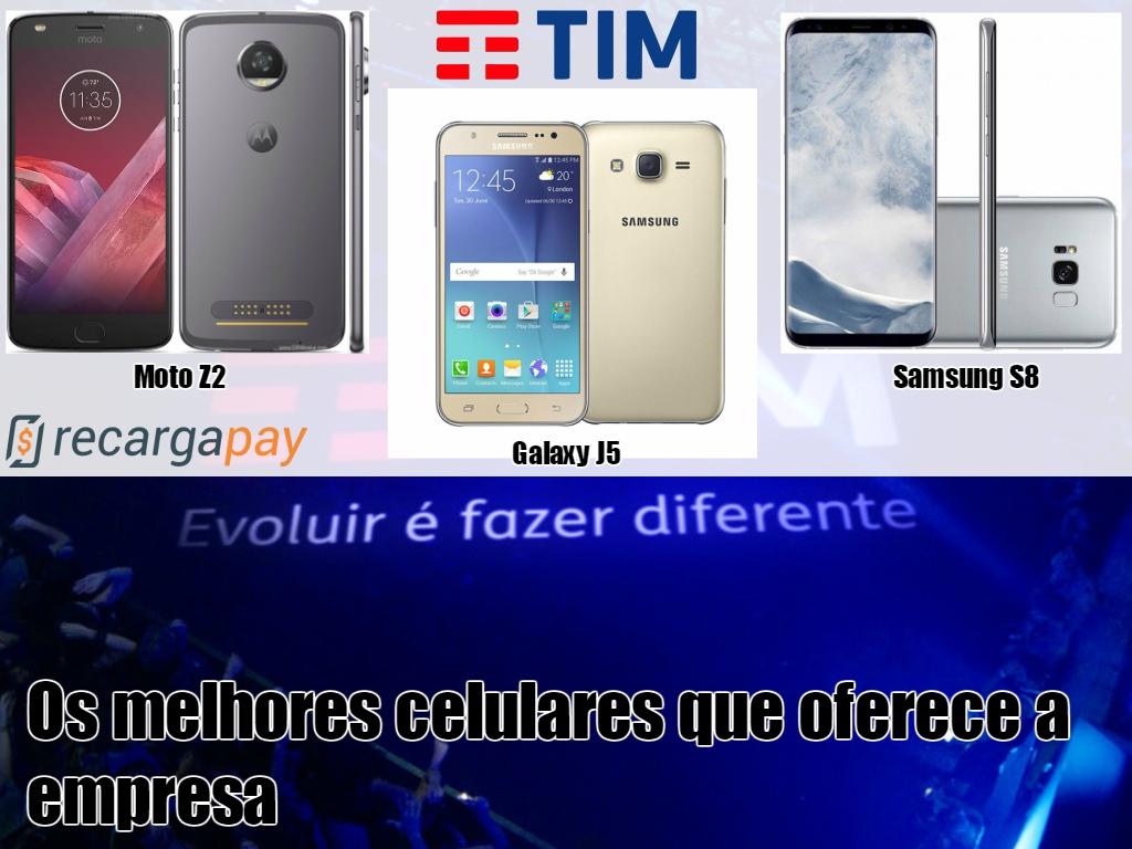 Top 4 melhores celulares da loja online de Tim