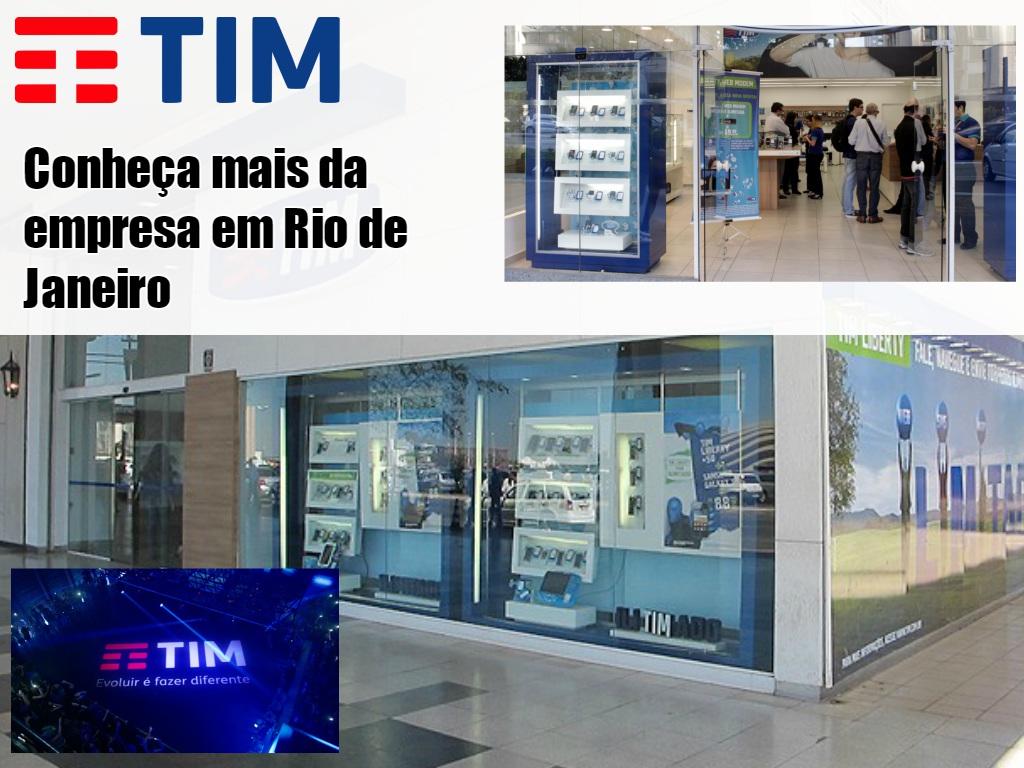 Empresa Tim no Rio de Janeiro