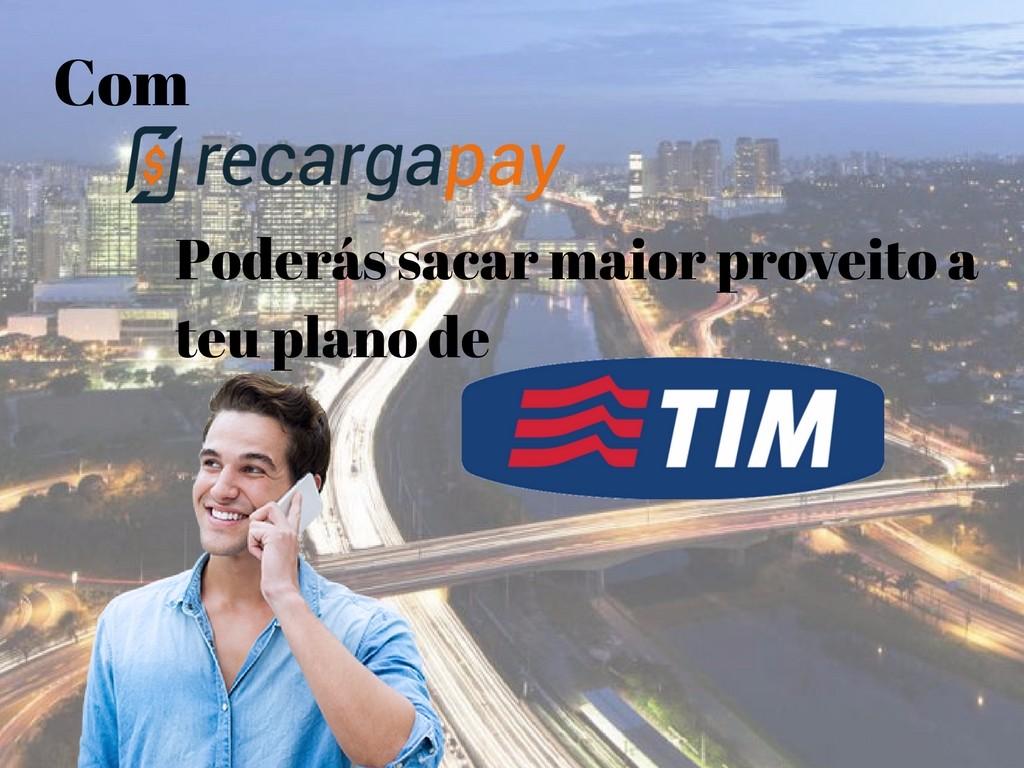 Tim oferece os melhores planos em Sao paulo