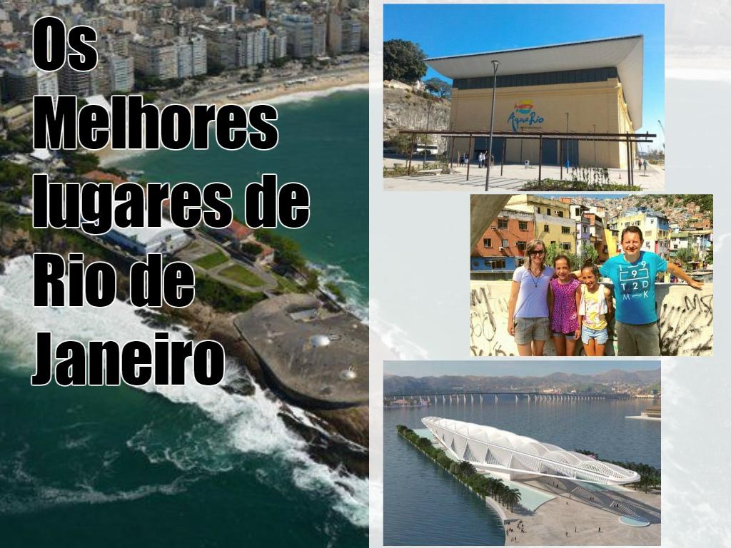 Os melhores lugares de Rio de Janeiro