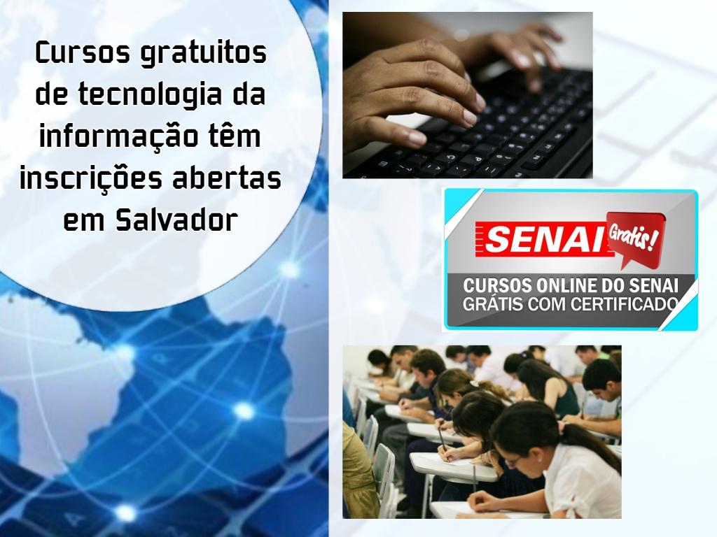 Os novos cursos de tecnologia em Salvador