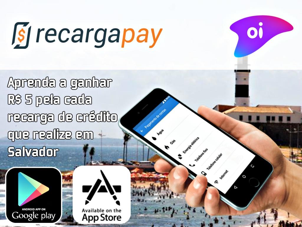1ac4737284 Aprenda a ganhar R$ 5 pela a cada recarga de crédito Oi que realize ...
