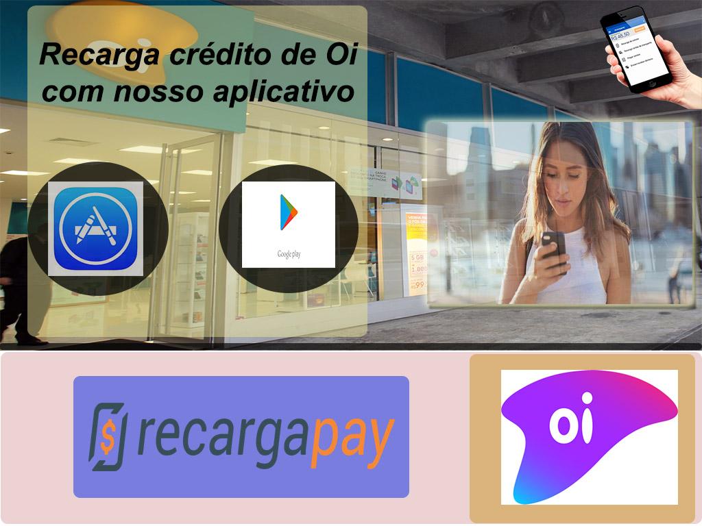 Empresa celular Oi em Brasil