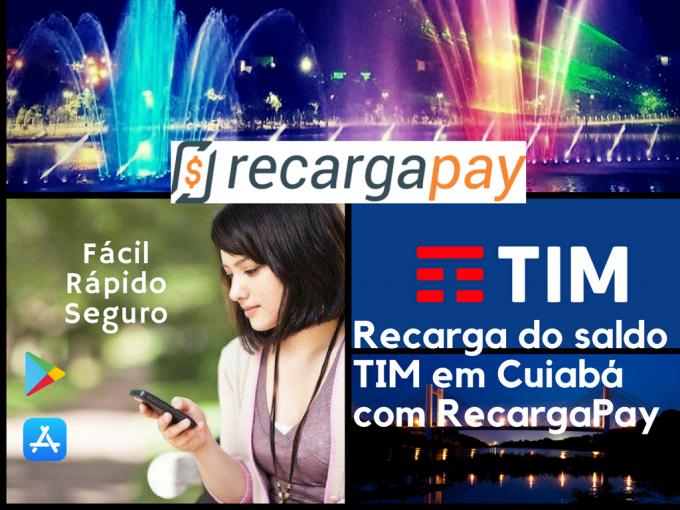Facil, rapido, seguro descarga de saldo TIM en Cuiabá