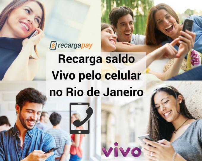 Recarga Vivo pelo celular no RJ
