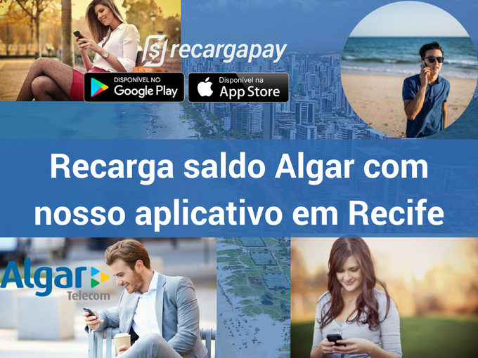 Recarga saldo Algar em Recife com Recargapay