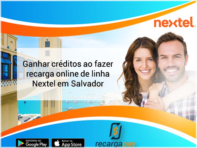 Recarga online de linha Nextel em Salvador
