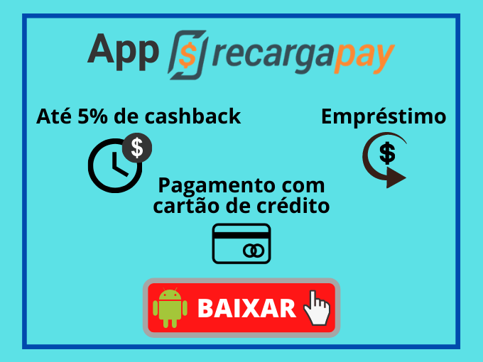 Instale RecargaPay para obter benefícios