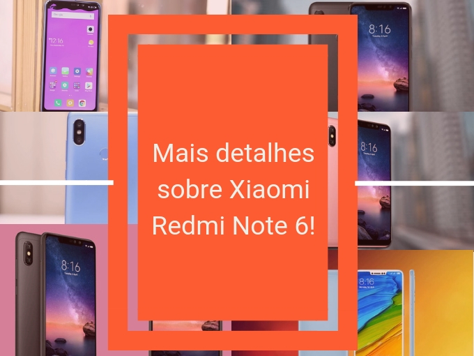 Deltalhes do Xiaomi Redmi Note 6