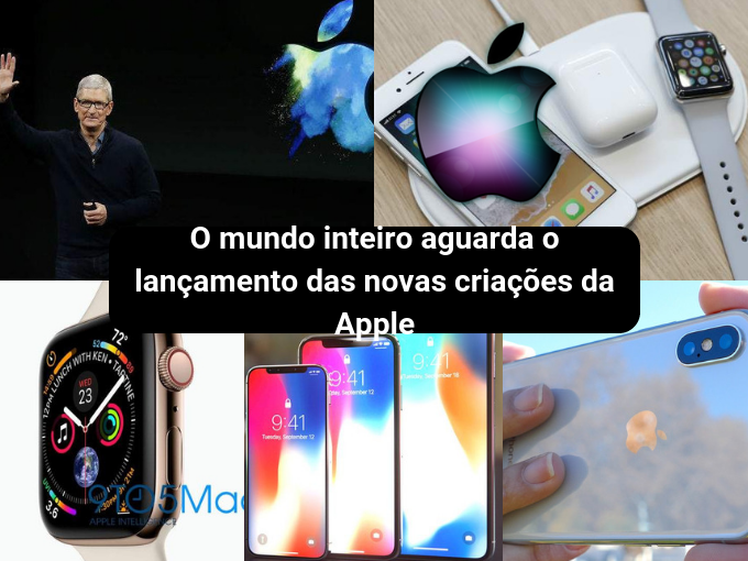 Grandes expectativas em torno dos novos produtos da Apple