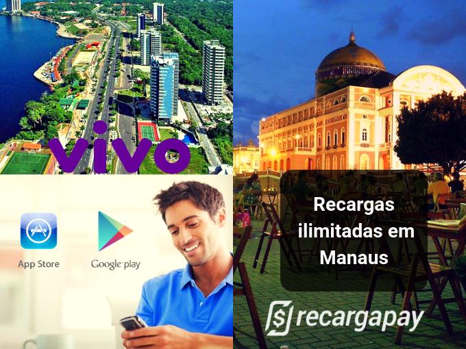 Recarregue tudo o que quiser em Manaus