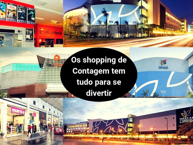 Contagem tem fabulosos centros comerciais