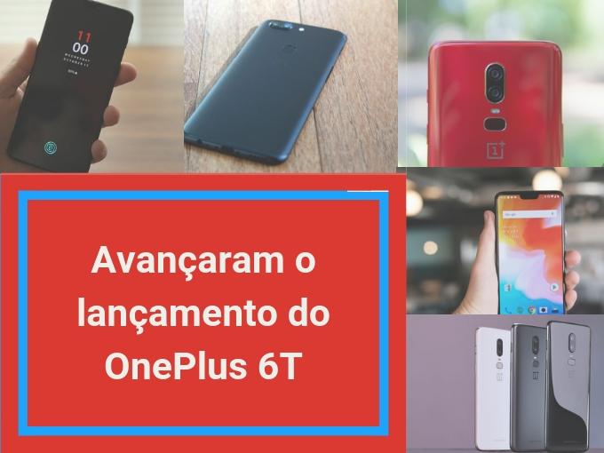 Avançaram o lançamento do OnePlus 6T!