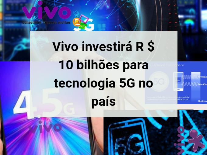 Vivo investirá em tecnologia 5G para 2020