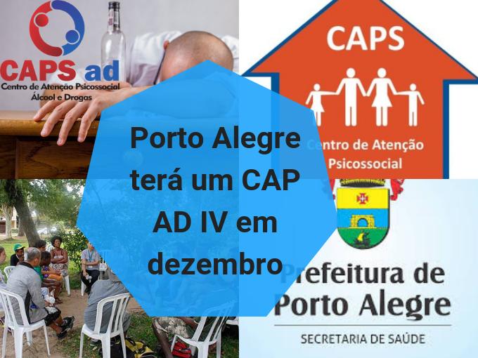 Porto Alegre terá un CAP AD IV