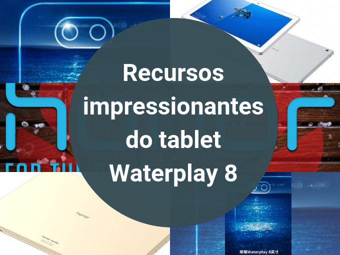 Recursos do tablet Waterplay 8