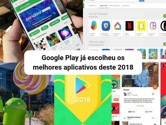 2018 foi um ano excelente para os aplicativos do Google Play