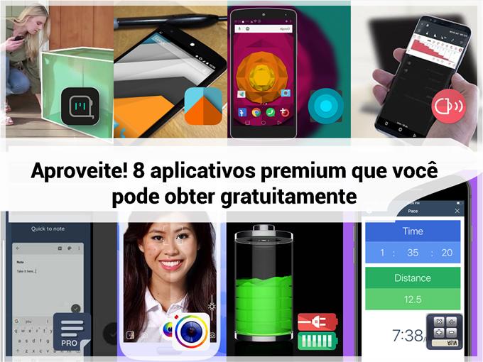 Aproveite! 8 aplicativos premium que você pode obter gratuitamente