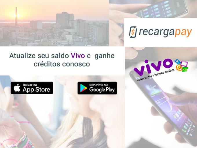 Compre créditos Vivo com Recargapay