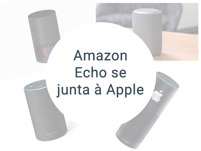 Amazon Echo sincroniza com a Apple