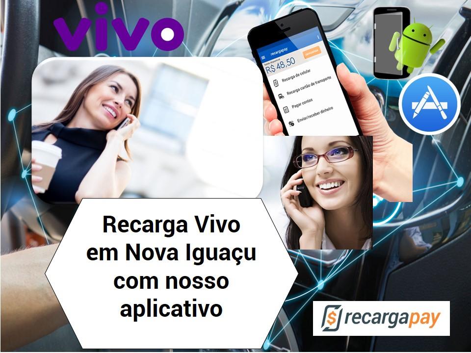 Recarga gratis Vivo com nosso aplicativo em Nova Iguaçu