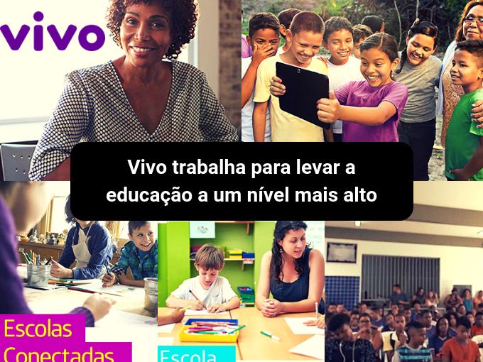 Vivo é um grande impulsionador da educação no Brasil