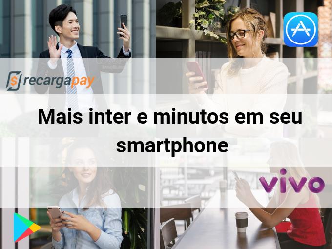 Mais inter e minutos em seu smartphone