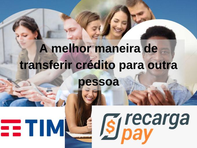 A melhor maneira de transferir crédito para outra pessoa