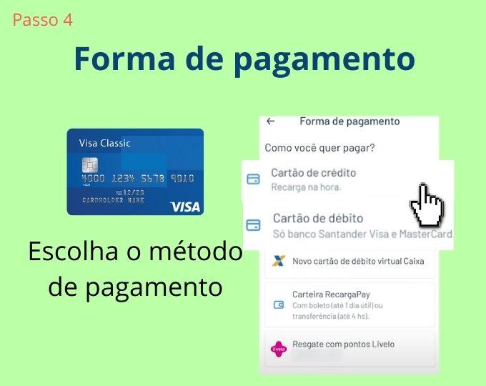 metodo de pagamento