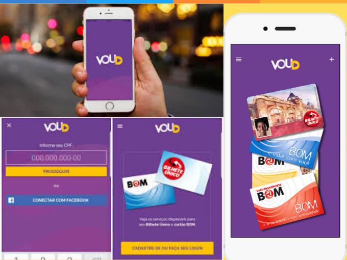 Coloque saldo no seu cartão de transporte com o VouD