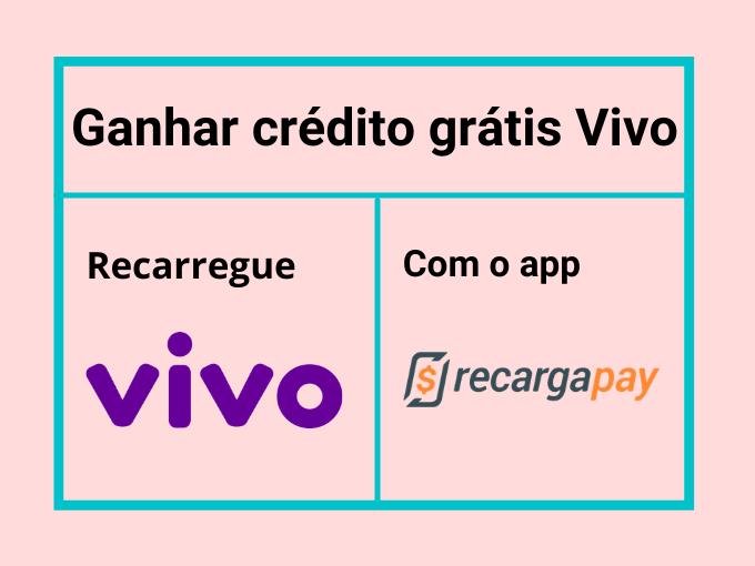 Ganhar crédito grátis Vivo