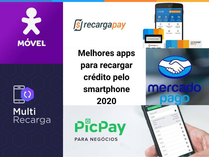 Melhores apps para recargar crédito pelo smartphone 2020