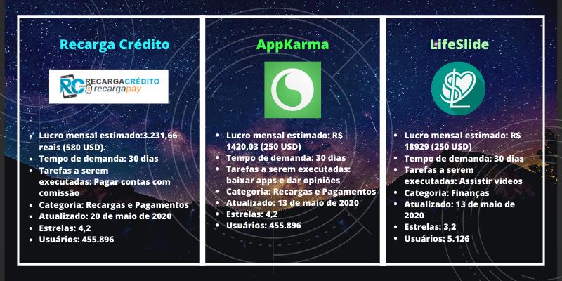 3 melhores apps