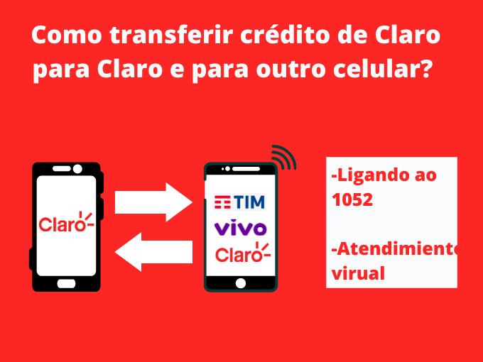 Como transferir crédito de Claro para Claro e para outro celular_