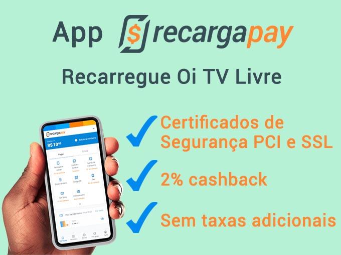 Benefícios do app RecargaPay