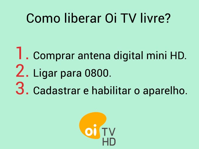 Como liberar Oi TV Livre?